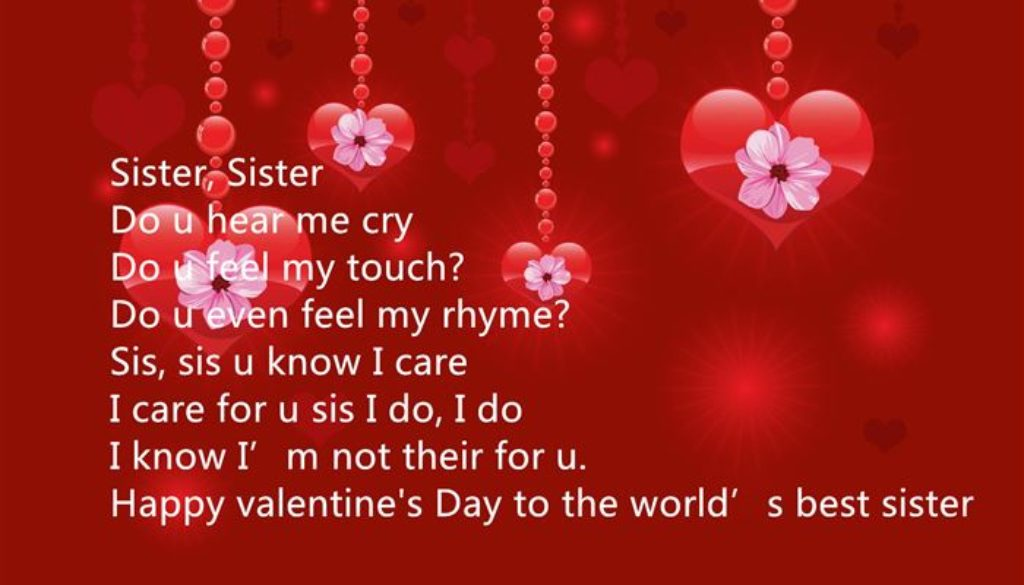 Valentines day wishes for sister 2018 hindi english happy valentines day wishes for sister 2018 hindi english m4hsunfo Choice Image