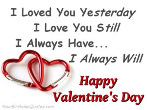 Valentines day wishes for daugther