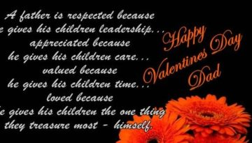 Happy Valentines Day Wishes Quotes Messages for Father 2018 Father-in-law