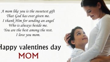 Happy Valentines Day Wishes Quotes Messages For Mom Mother 2018