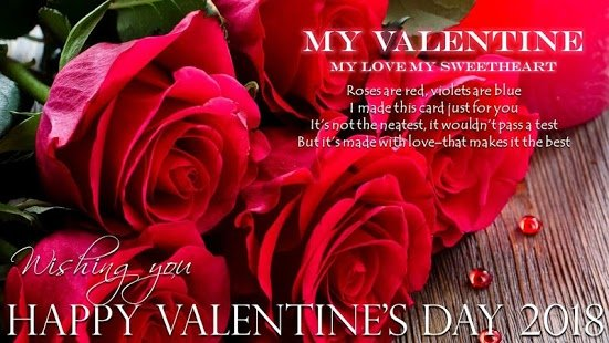 Happy Valentines Day Sayings Quotes for him/her Husband Boyfriend 2018