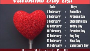 Valentine Week Whatsapp Status Messages Special 2018 Facebook Text