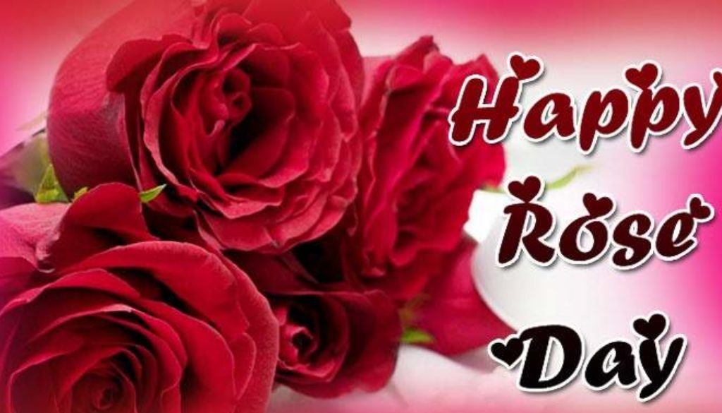 Happy Rose Day 2018 Animated Background colorful wallpaper Banner Cover