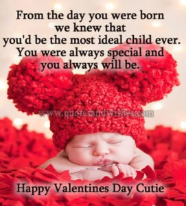 Valentine's day wishes for son