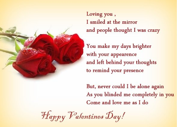Best One Liner Message Wishes Sms Quotes for Happy Valentines Day 2018